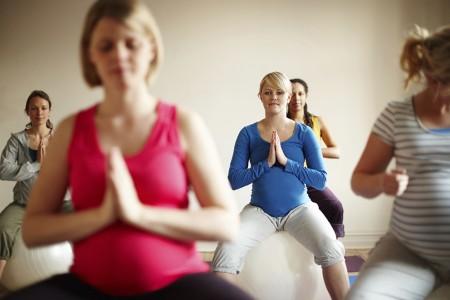 yoga femmes enceintes chaps la salle à paris