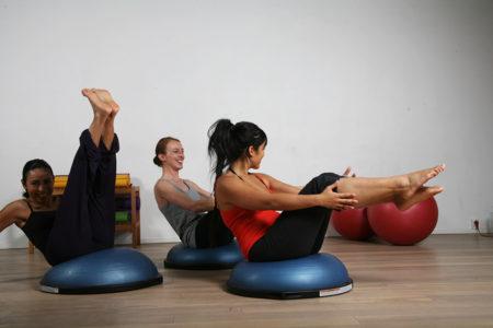 Pilates, trio barrel, entrainement, chaps