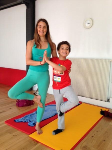cours yoga enfants Fabienne chaps la salle à paris 75011