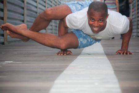 matthieu professeur de yoga chaps