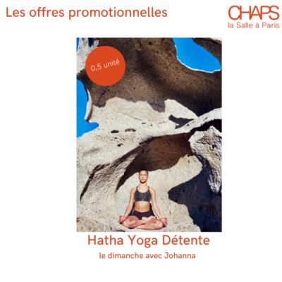 Promo : Hatha Yoga (0,5 unité)