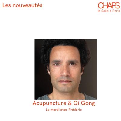 Séances d'acupuncture chez Chaps