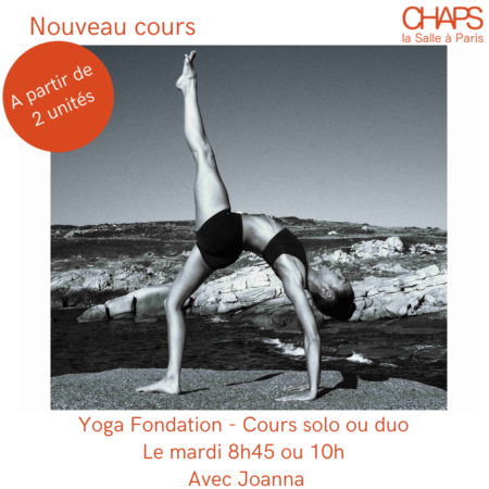 Yoga cours particulier
