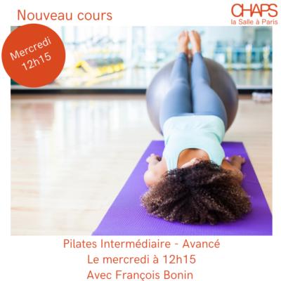 Nouveau cours : Pilates Inter