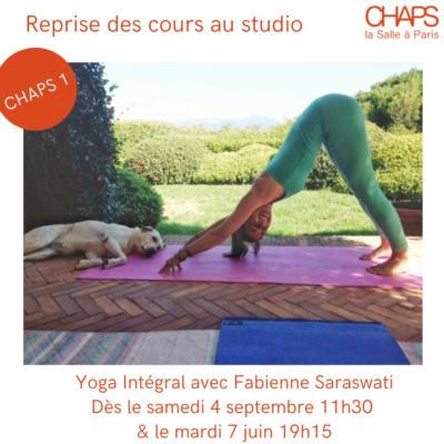 Yoga intégral à Chaps 1